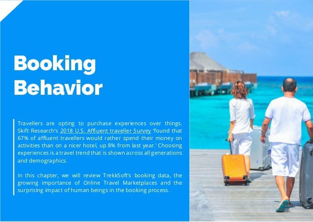 9 Travel Trend Report 2019 Booking Behavior Travellers are opting to purchase experiences over things. Skift Research's 20...