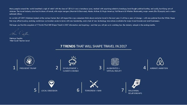 7 trends that will shape travel in 2017 2