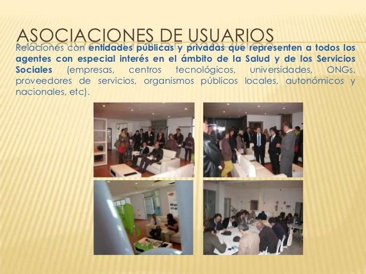 ASOCIACIONES DE privadas que representen a todos losRelaciones con entidades públicas y                                   ...