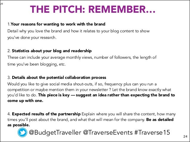 From Travel Blogger To Brand Ambassador How To Pitch Like A Pro
