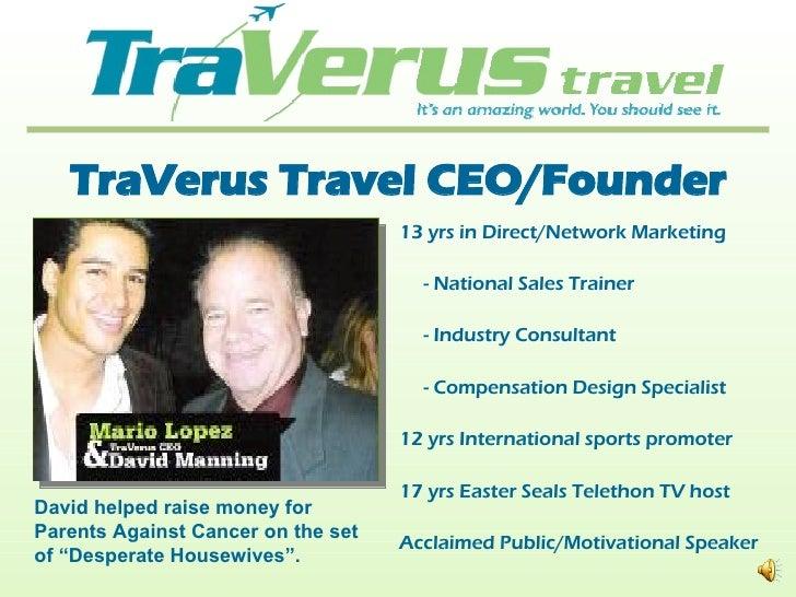 International Travel Consultant Personal Presentation