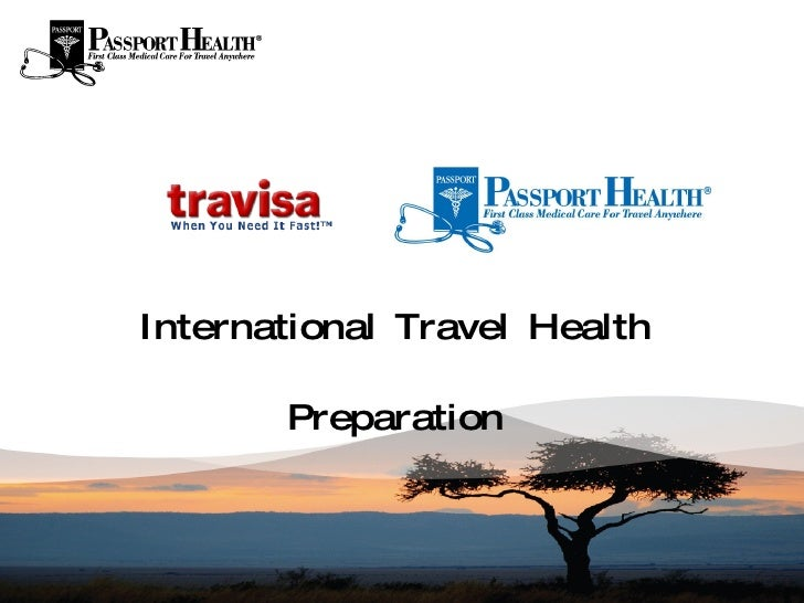 International Travel Health Preparation