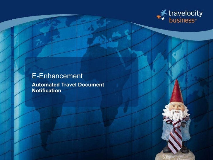 E-Enhancement Automated Travel Document Notification