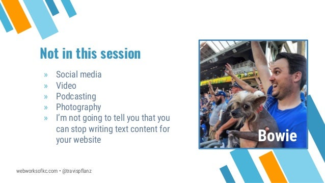 Before you Blog: Everything your WordPress Business Website is Missing - Travis Pflanz Slide 3