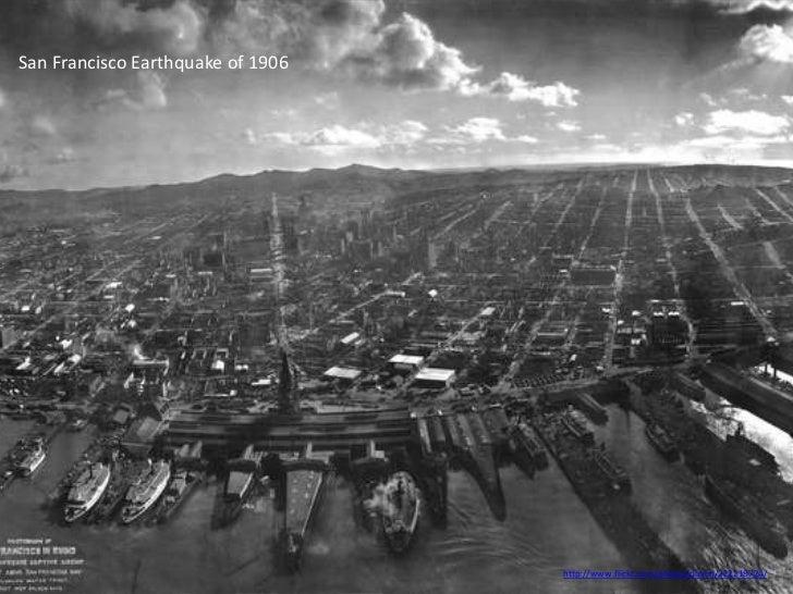 San Francisco Earthquake of 1906                                   http://www.flickr.com/photos/danlin/222218724/