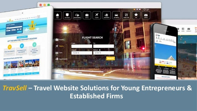 TravSell – Travel Website Solutions for Young Entrepreneurs & Established Firms