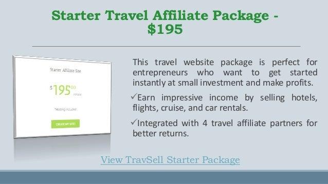 TravSell  - Travel Website Solutions for Young Entrepreneur and Established Firms  Slide 3