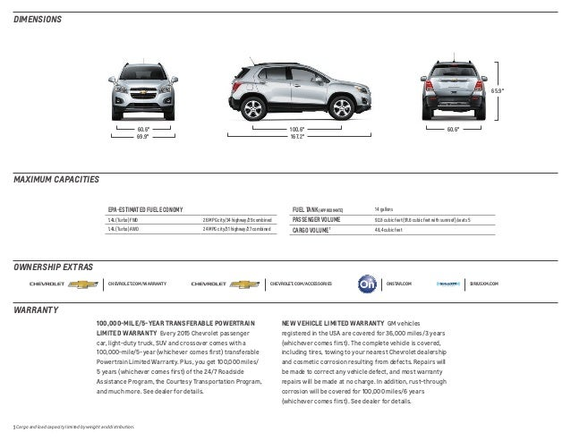 2015 Chevy Trax In South Jersey Chevrolet Dealer In Vineland