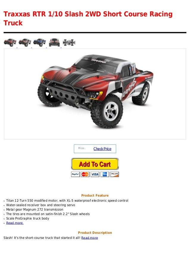 Traxxas rtr 1 10 slash 2 wd short course racing truck