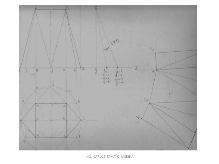 Trazado y desarrollo en lámina y tubería