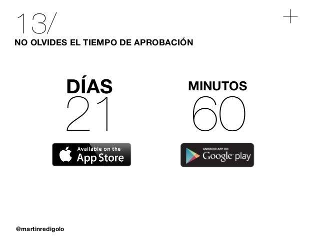 @martinredigolo 13/NO OLVIDES EL TIEMPO DE APROBACIÓN 21 DÍAS 60 MINUTOS