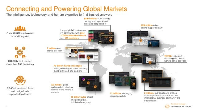 SI2017: Thomson Reuters: Toby Amis, Head of Eikon Proposition