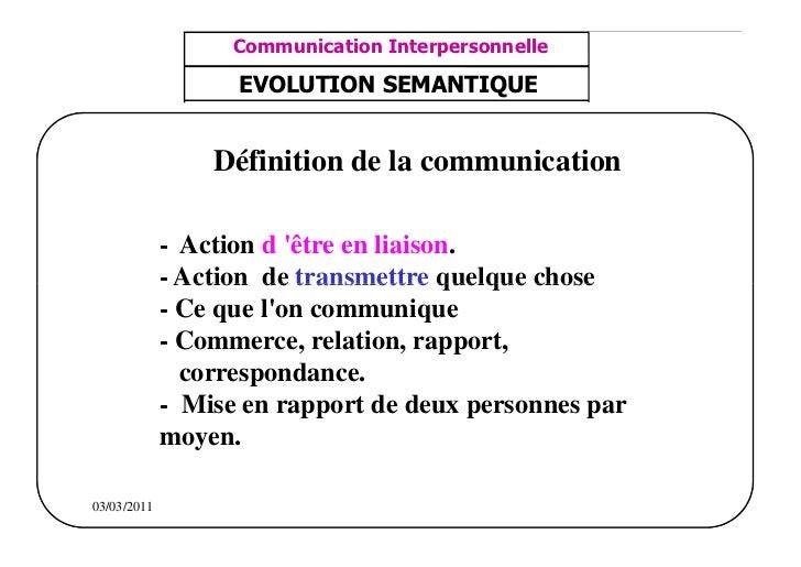 مشف          GROUPE OCP                                      Communication Interpersonnelle    TR N° 1/57Direction des R...