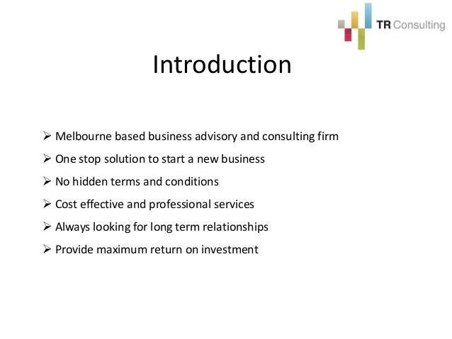 Business planning consultants melbourne