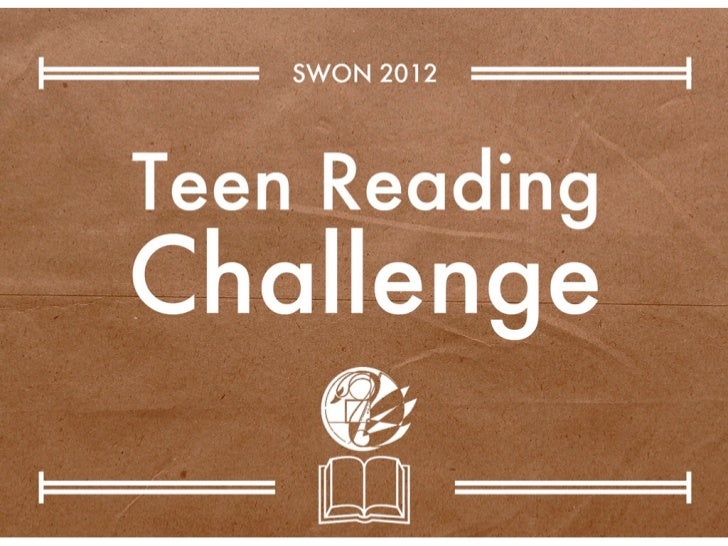 SWON 2012 Teen Reading Challenge Results Show