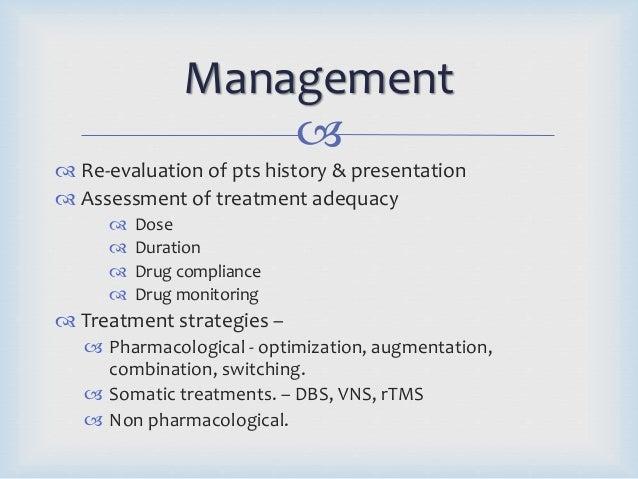 treatment resistant depression2004; 15