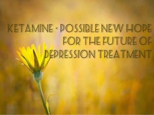 The Role of Ketamine in Treatment-Resistant Depression: A Systematic Review