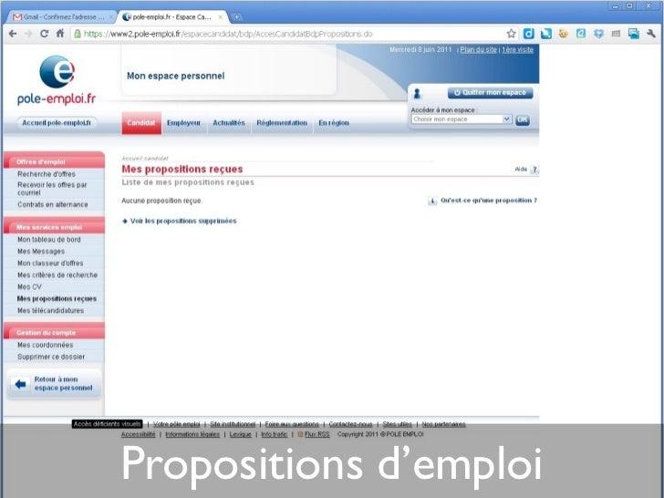 recherche d u0026 39 emploi sur internet