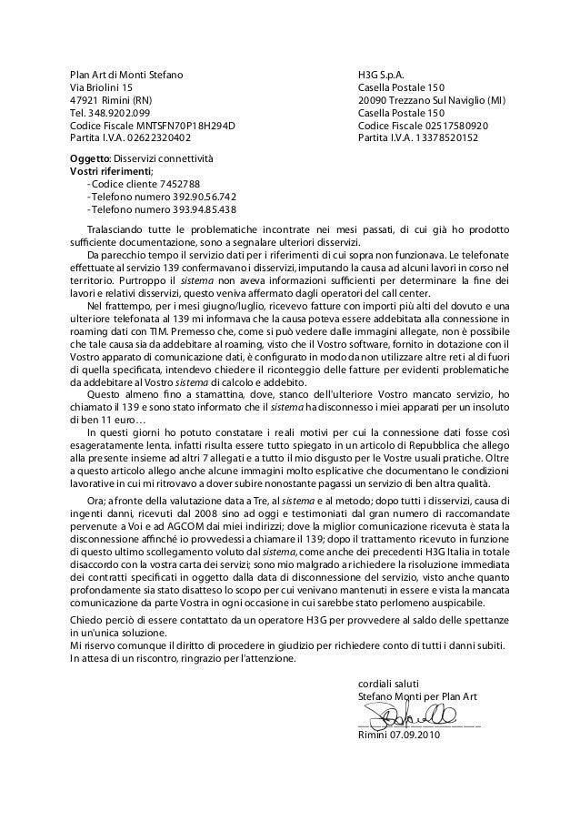 Plan Art di Monti Stefano                                           H3G S.p.A.Via Briolini 15                             ...
