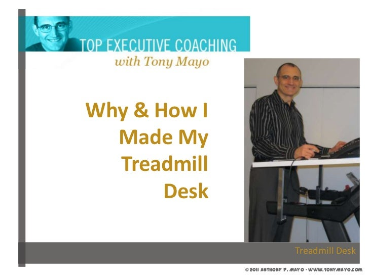 Why & How I Made My Treadmill Desk<br />