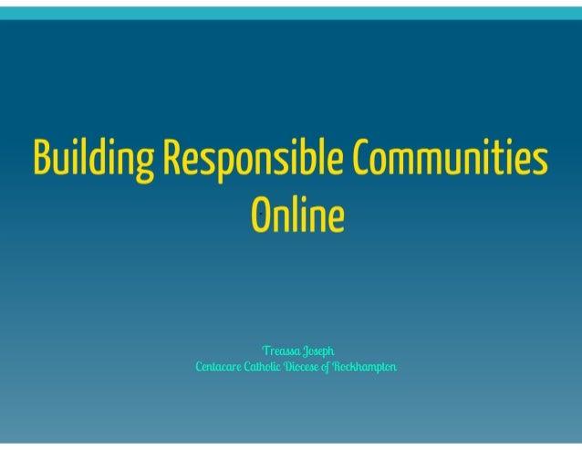 Sydney social media forum - Treassa Joseph Slide 2