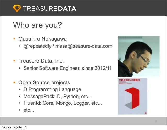 Treasure Data Cloud Strategy Slide 2