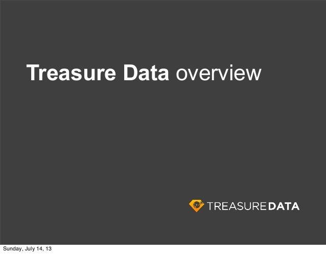 Treasure Data Cloud Strategy Slide 3