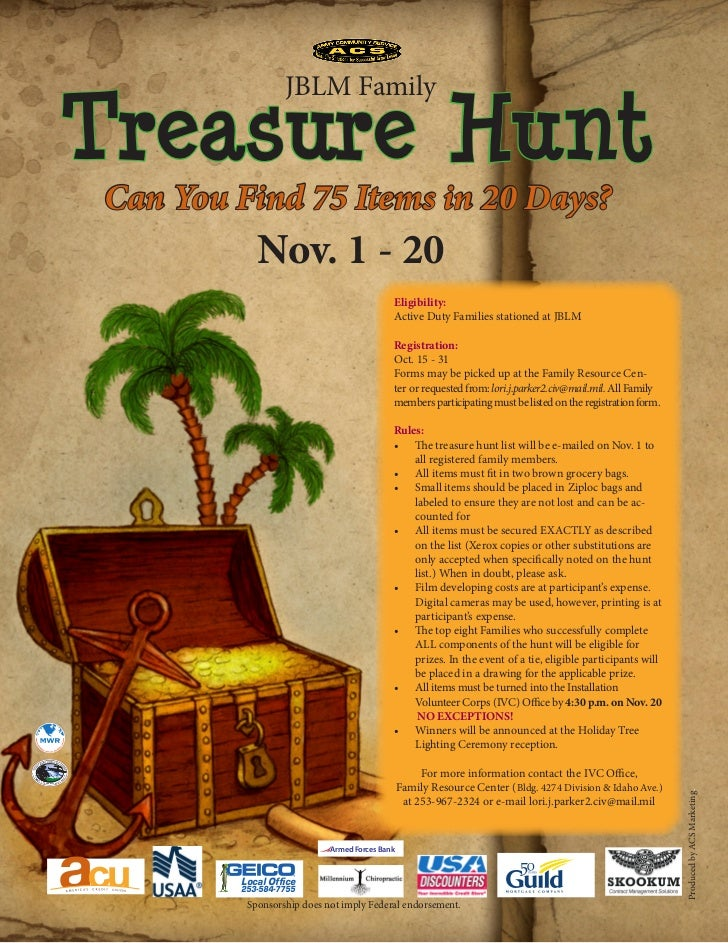 kirsch center treasure hunt essay Start studying called out by barbra kingsolver (science essay) & kingsolver poetry learn vocabulary, terms, and more with flashcards, games, and other study tools.