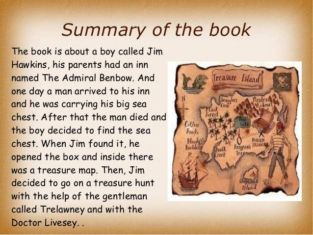 Short Summary Of Treasure Island By Stevenson