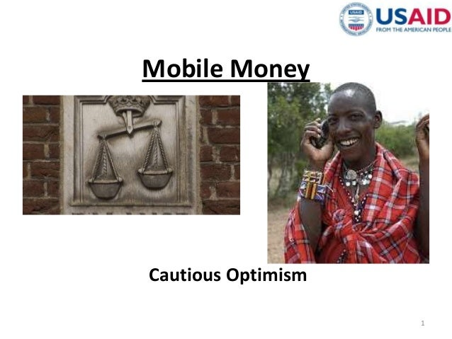 Mobile Money Cautious Optimism 1