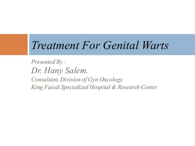 Presented By : Dr. Hany Salem. Consultant, Division of Gyn Oncology King Faisal Specialized Hospital & Research Center Tre...