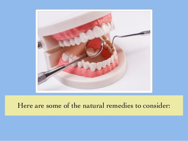 how to use tea tree oil for gum disease