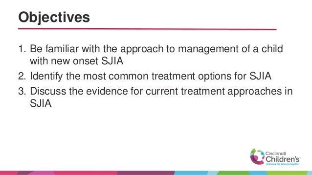 Treating new and refractory SJIA patients - Jennifer Huggins Slide 2