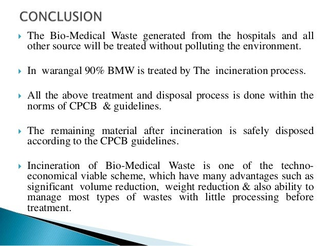 thesis on biomedical waste Essays biomedical waste (2012) need of biomedical waste management system in bio-medical waste treatment facility at its super speciality campus for the.