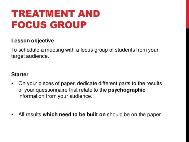 focus group research paper Biographical contexts of the focus group, participants, and the moderator  focus  groups as research tool, this paper aims to explore methodological concerns.