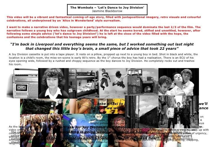 The Wombats – 'Let's Dance to Joy Division'                                                          Jasmine Blackborow  T...