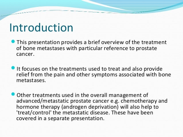 an overview of the cancer cases and the treatments used