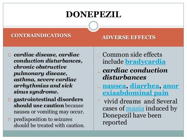Aricept Duration Effectiveness