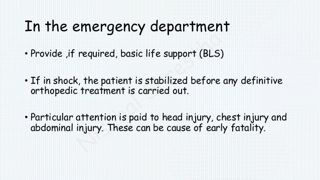 Management of Fractures