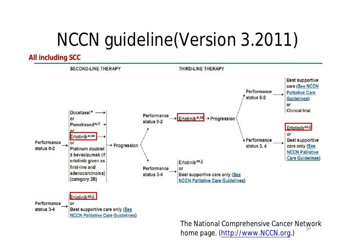 Treatment of Non–Small-Cell Lung Cancer with Erlotinib or