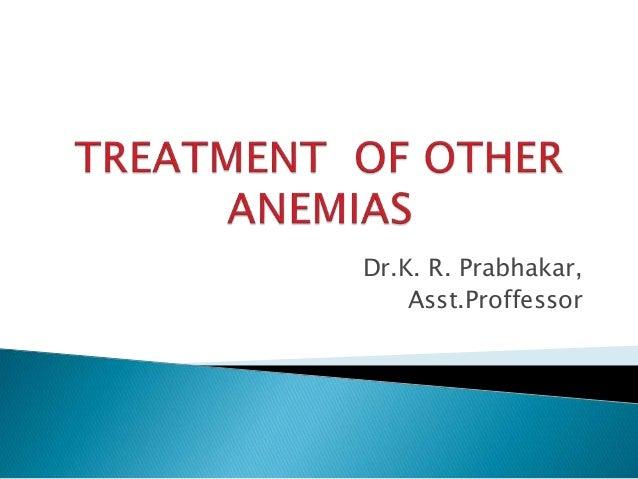Dr.K. R. Prabhakar, Asst.Proffessor