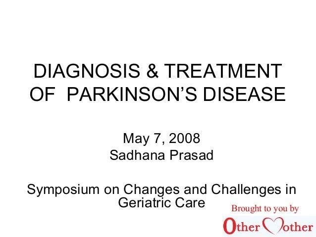 Statistics on Parkinson's Disease