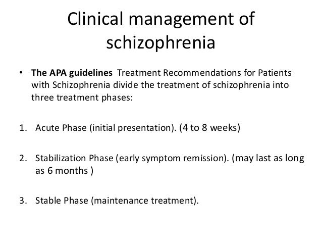 treatments of schizophrenia Schizophrenia is a mental condition that can make it very difficult for the victim to recognize reality from imaginary items.