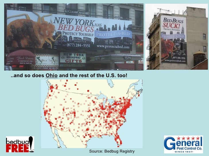 ..and so does  Ohio  and the rest of the U.S. too! Source: Bedbug Registry