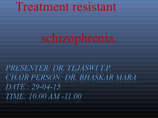 Schizophrenia pathophysiology ppt.