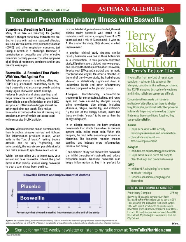 Sign up for my FREE weekly newsletter or listen to my radio show at: TerryTalksNutrition.com 16236_0416.TTN113 More… 1 In ...