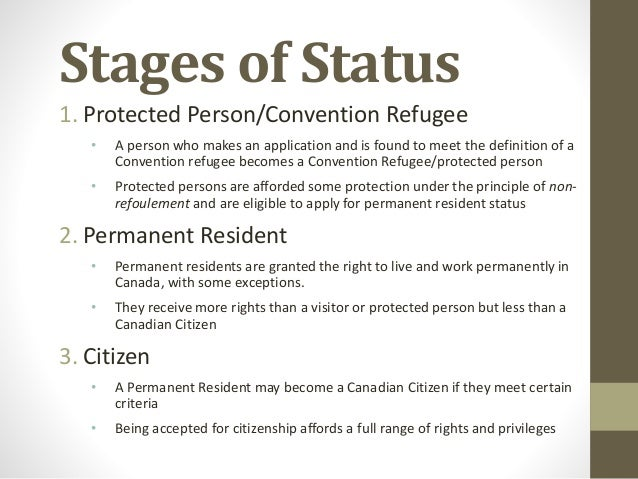 refugee status in canada how to get