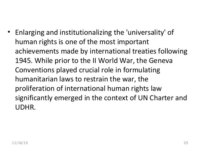 the role of the un in the contemporary world international law essay 2018-6-13 international law is the set of rules generally regarded and accepted as binding in relations between states and between nations it serves as a framework for the practice of stable and organized international relations.