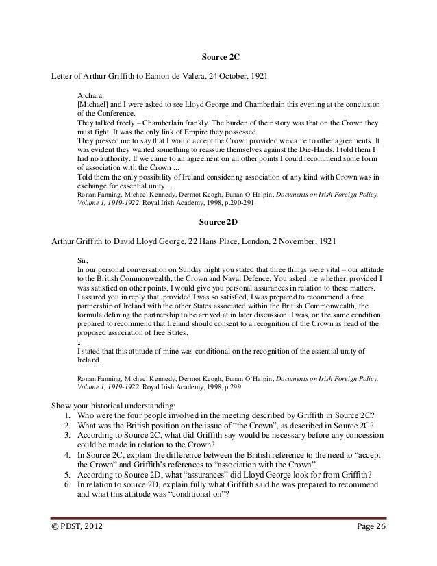 partition ireland essay