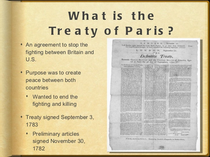treaty of paris 1898 essay The 1898 treaty of paris gave the cubans independence from spain, and guan and puerto rico were ceded to the united states the united states demanded the.